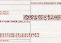 Обои Ланита 0.53x10м. вспененный винил (бело-вишнё