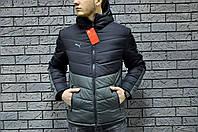Куртка ветровка мужская весна-осень Puma (реплика)