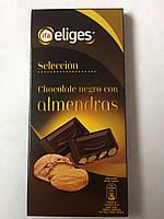Шоколад Ifa Eliges черный с миндалем 200г