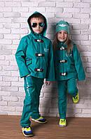 """Детский повседневный костюм унисекс """"EA7"""" с капюшоном (3 цвета)"""