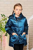 Стильная демисезонная куртка весна-осень для девочки 32, 34, 38, 40 р.Детская верхняя одежда!