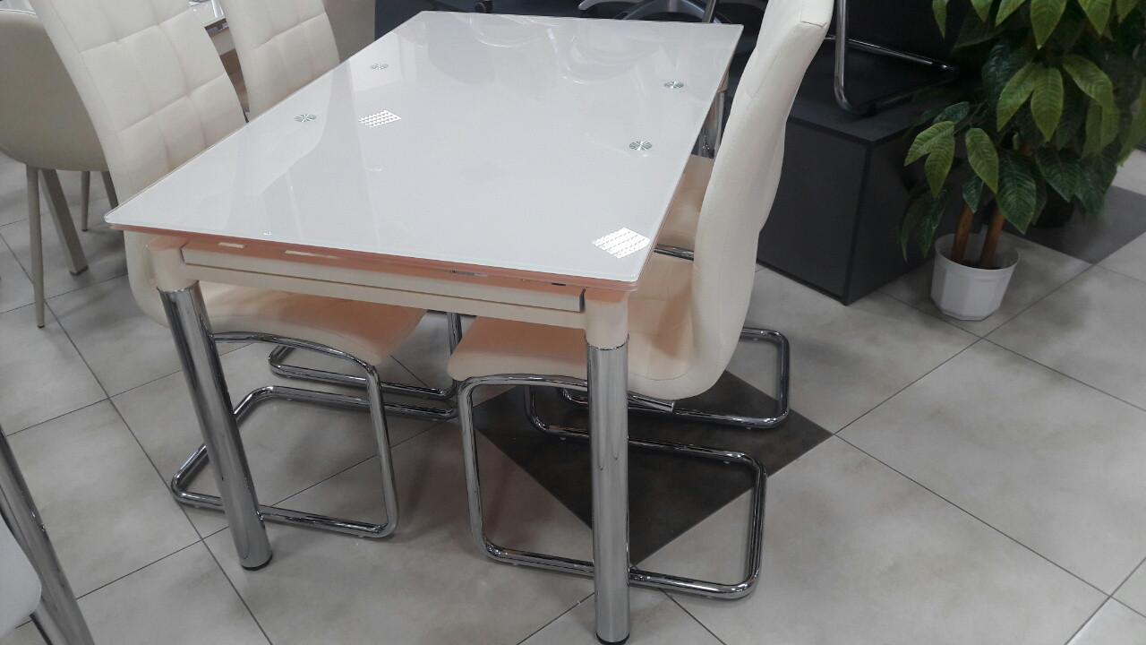 Стол ТВ 020 (без узора) (кремовый)