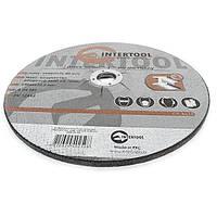 Круг зачистной по металлу INTERTOOL CT-4025 Код:244991046