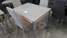 Стеклянный стол ТВ 017 (кремовый) (без узоров), фото 3