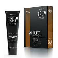 Система маскировки седины 5-6 уровень American Crew Precision Blend Medium Ash