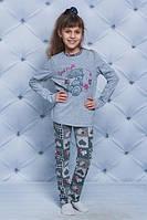Удобная пижама для девочки Мишка