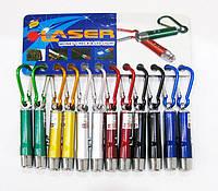Брелок Laser Camis с LED фонариком и лазерной указкой 4078-2