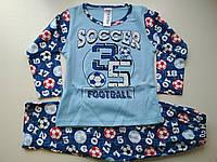 Мягкая пижама на мальчика Football , фото 1
