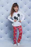 Удобная пижама для девочки Микки