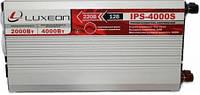 Инвертор напряжения 12-220 Вольт 2000Вт Luxeon IPS 4000S чистая синусоида