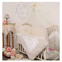 Защита на кроватку Версаль Капучино Маленькая  Соня (071341)