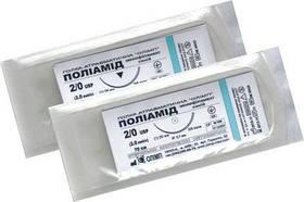 Поліамід (нейлон) монофиламент, нерассасывающий шовний матеріал
