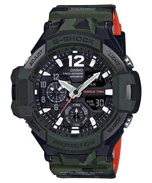 Спортивний годинник Casio G-SHOCK GA-1100SC-3ACR