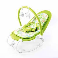 Детский шезлонг Зеленый Baby Tilly (BT-BB-0004 GREEN)