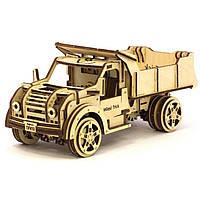Деревянная сборная механическая 3D модель Wood Trick Грузовик 190036
