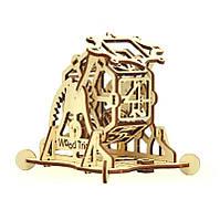Деревянная сборная механическая 3D модель Wood Trick Колесо фортуны 190111