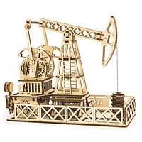 Деревянная сборная механическая 3D модель Wood Trick Нефтяная вышка 190104