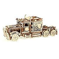 Деревянная сборная механическая 3D модель Wood Trick Тягач 190180