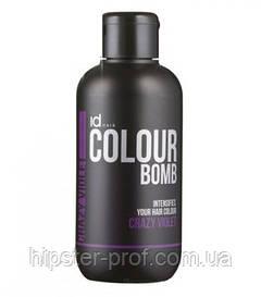 Тонирующий бальзам фиолетовый IdHair Colour Bomb Crazy Violet