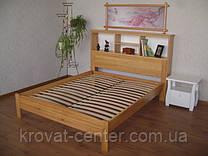 """Кровать """"Комби"""" (200*160), массив дерева - ольха, покрытие - лак."""