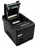 POS-принтер принтер чеків Xprinter XP-Q300 Black (XP-Q300) USB RS232 Lan з автообрізкою, фото 4