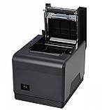 POS-принтер принтер чеків Xprinter XP-Q300 Black (XP-Q300) USB RS232 Lan з автообрізкою, фото 3