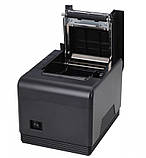 POS-принтер принтер чеков Xprinter XP-Q300 Black (XP-Q300) USB RS232 Lan с автообрезкой, фото 3