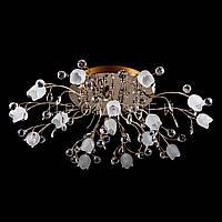 LED люстра с диодной подсветкой (лампочки в комплекте). P5-Y0569/16/FG