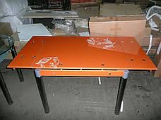 Стол ТВ 21 (без узора) (оранжевый), фото 2