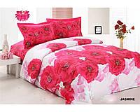 Комплект постельного белья Le Vele Jasmine Daily series сатин 220-200 см, фото 1