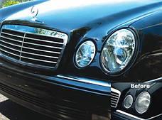 W210 Передние фары