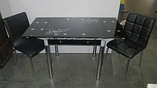 Стол ТВ 21А (чёрный) (без узора и боковой накладки), фото 2