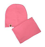 Набор шапка и снуд для девочки