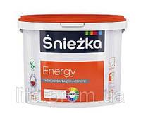 Краска СНЕЖКА Energy белая 1л (1,4кг)