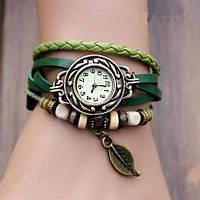Модные стильные женские наручные часы-браслет Owl