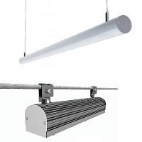 Разновидности подвесных линейных светодиодных светильников