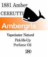 Масляная парфюмерия на разлив для мужчин 280 «1881 Amber pour Homme Cerruti»
