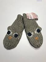 Варежки рукавицы Mothercare для девочки 1-3 года рост 86-98