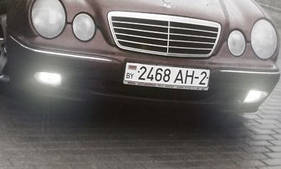 W210 Противотуманные фары