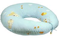 Подушка для беременных и кормления с наволочкой.