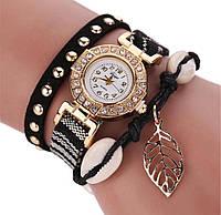 Стильные модные женские наручные часы-браслет Duoya