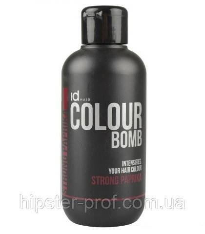 Тонирующий бальзам темно-красный IdHair Colour Bomb Strong Paprika
