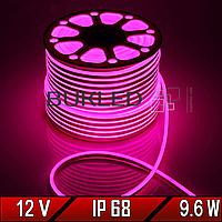 Неоновая лента Dream light 12V  IP 68 РОЗОВЫЙ (Гибкий неон/холодный неон)