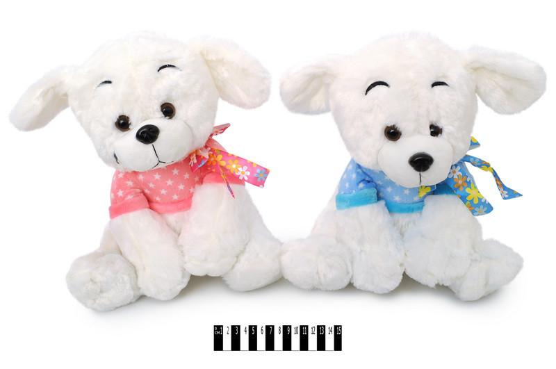 Мягкая игрушка Собачка Снежок 13124\30, музыкальная 30 см