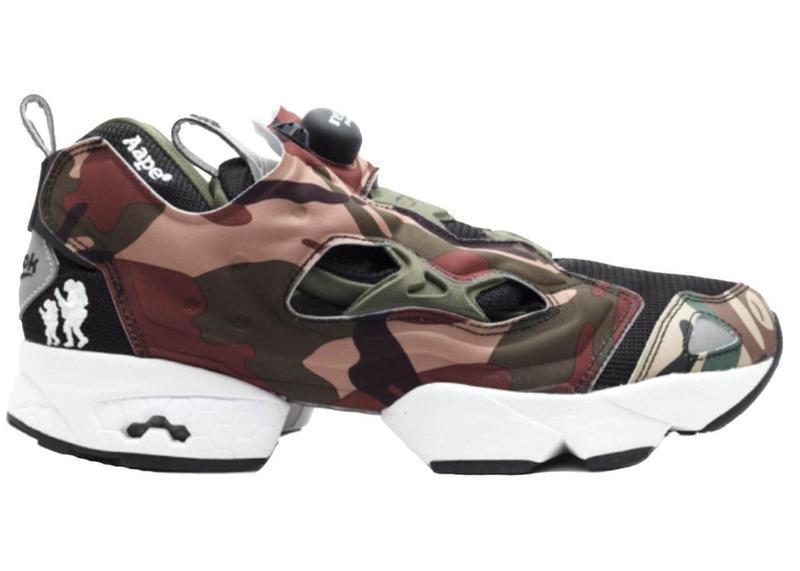 672a0180140c Кроссовки Reebok Insta Pump Fury Camo камуфляж топ реплика - Интернет- магазин обуви и одежды