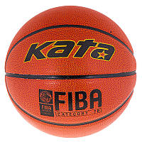 Классический мяч для баскетбола Kata №7 PU, FIBA