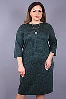 Женское платье больших размеров (50,52,54,56,58,60)