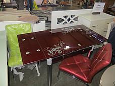 Стол ТВ 21 (без узора) (рубин), фото 2