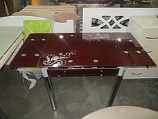 Стол ТВ 21 (без узора) (рубин), фото 3