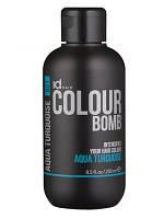 Тонирующий бальзам для волос бирюзовый IdHair Colour Bomb Aqua Turquoise